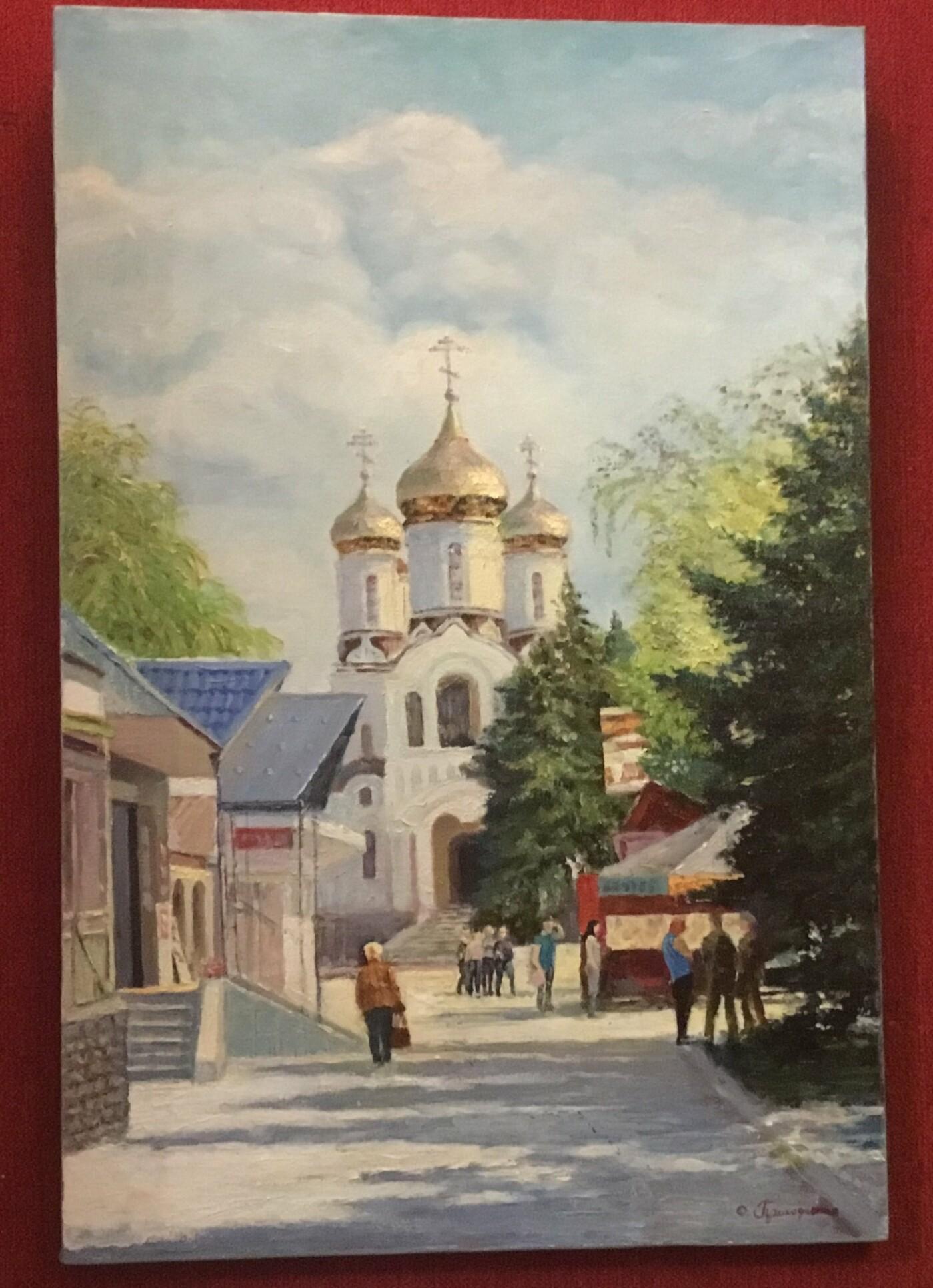 Константиновский художник Олег Приходченко пишет картины душой, фото-3