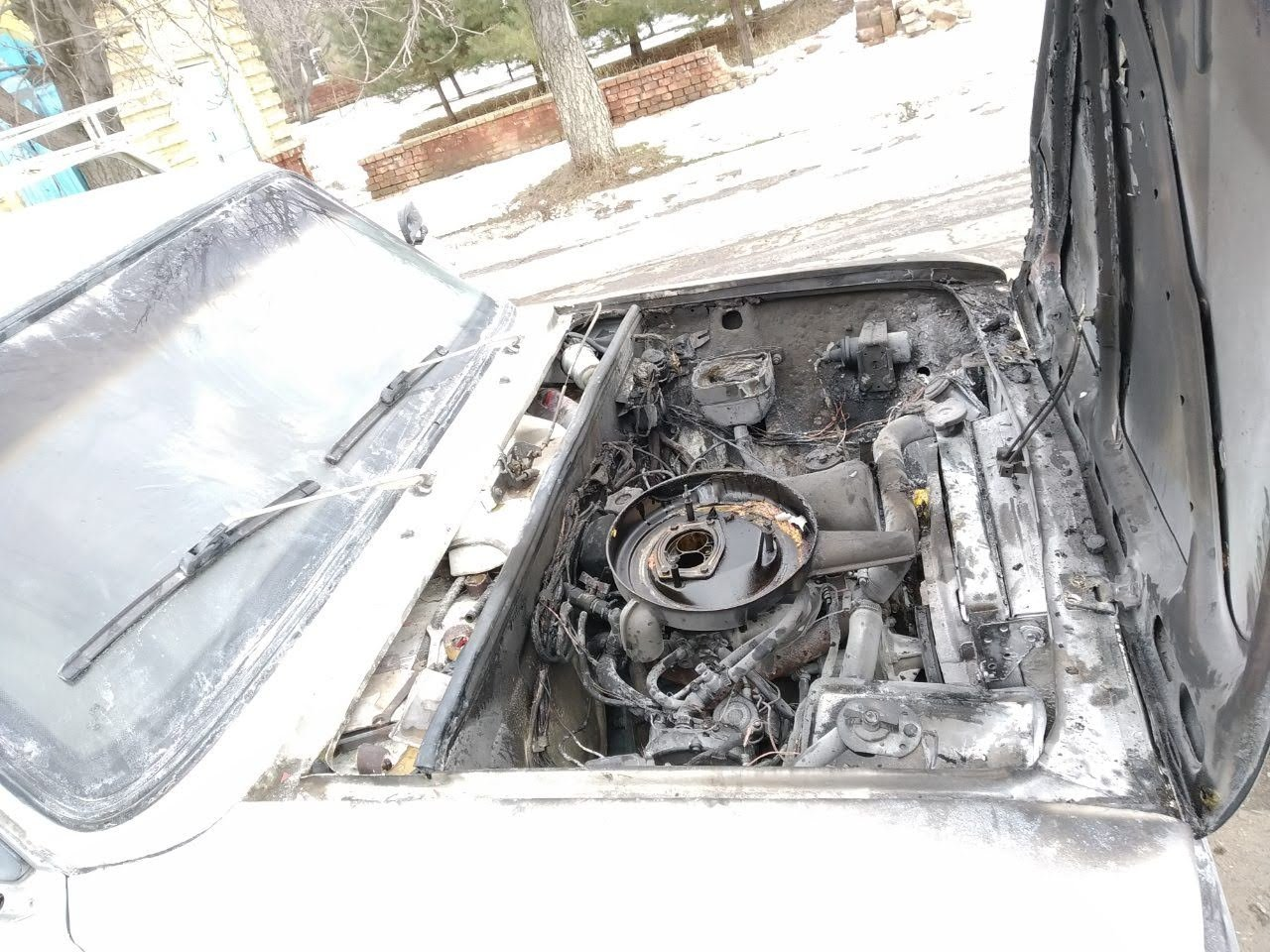 Рятувальники загасили авто, яке загорілося на маршруті Костянтинівка – Олексієво-Дружківка, фото-1