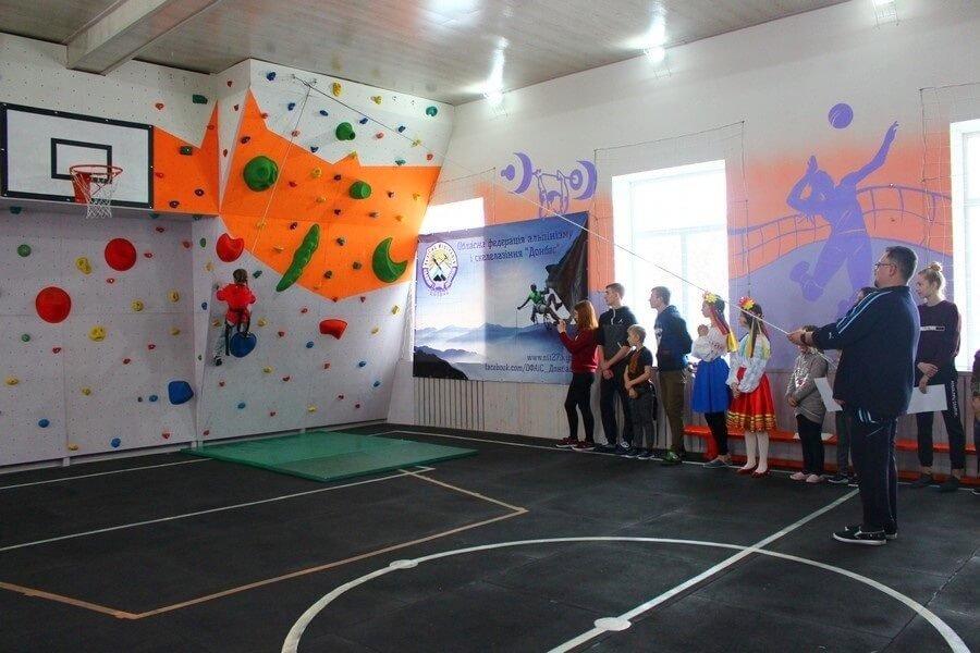 Современный скалодром открыли в поселке городского типа на Лиманщине, фото-1