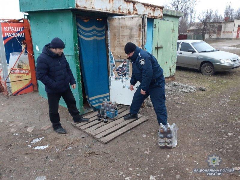 В Константиновке прекратили работу  «ларька», в котором незаконно продавали алкоголь, фото-1