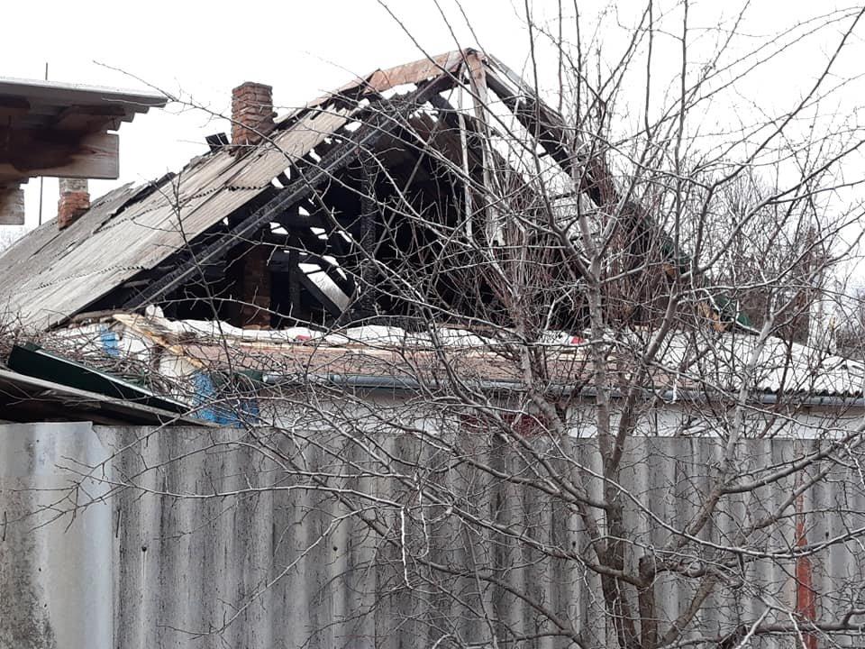 В селе Долгая Балка Константиновского района произошел пожар, фото-1