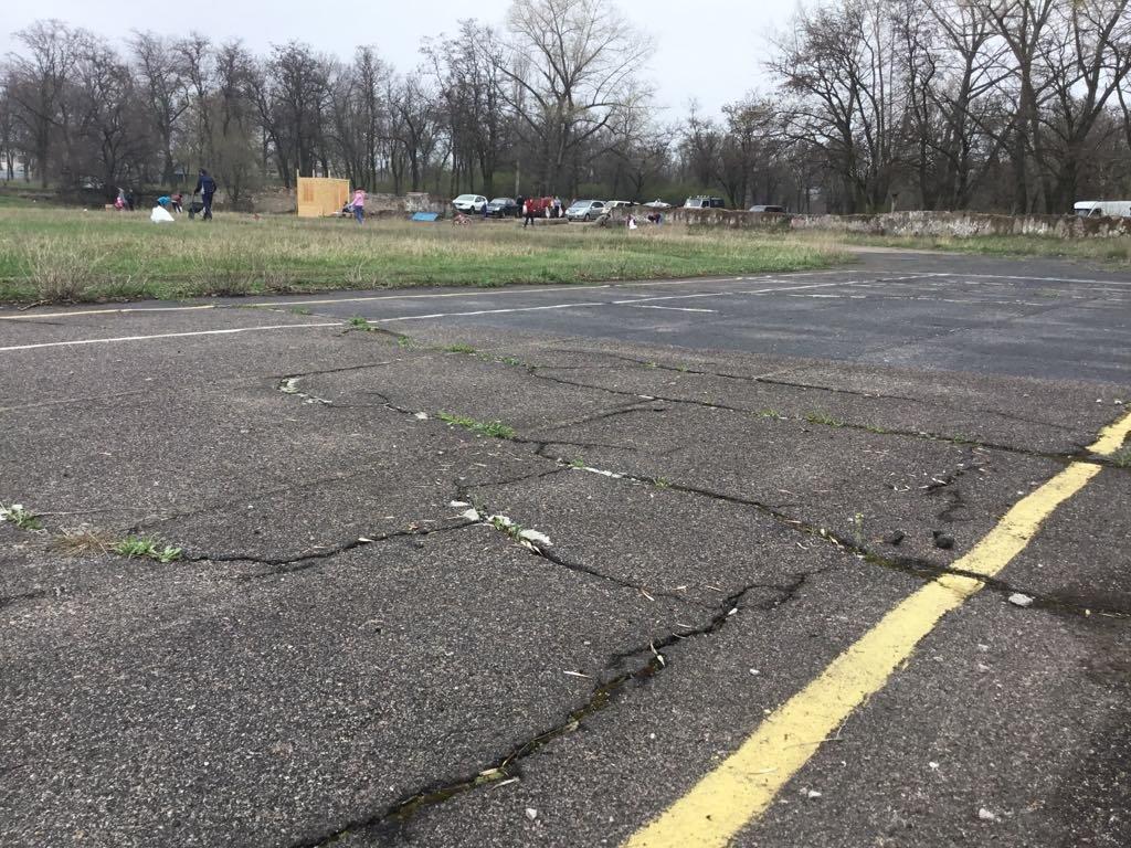 Активисты Константиновки начали восстанавливать стадион, фото-1