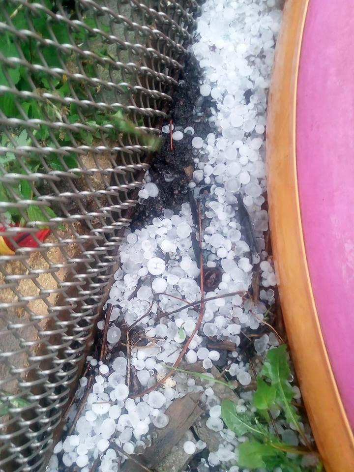 Злива, гроза та град. Фото вчорашньої негоди в Костянтинівці, фото-4