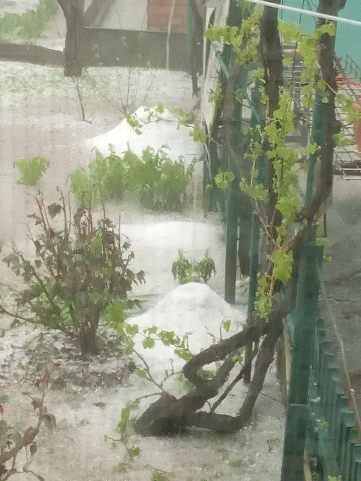 Злива, гроза та град. Фото вчорашньої негоди в Костянтинівці, фото-3