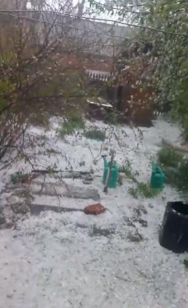 Злива, гроза та град. Фото вчорашньої негоди в Костянтинівці, фото-5