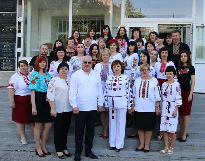 Мешканці Костянтинівки та району вітають з Днем вишиванки (ФОТО), фото-7