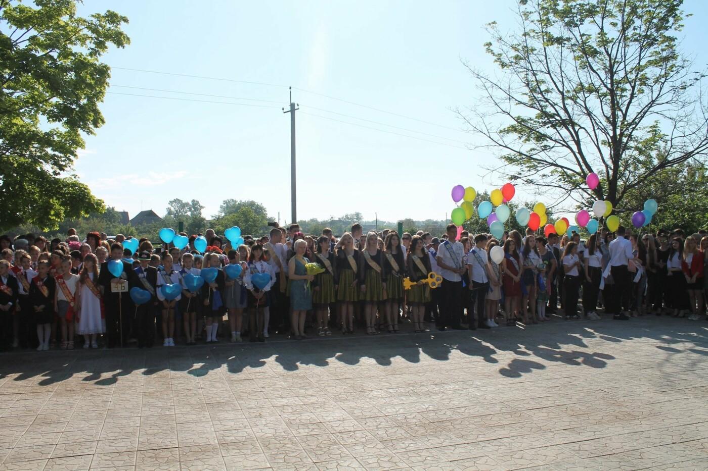 Долгожданное событие года. Последний звонок в школах Константиновки и района (фото), фото-6