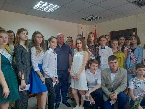 Одаренные ученики Константиновки получили стипендии, фото-1