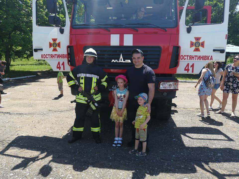 В Константиновке отметили День защиты детей, фото-1