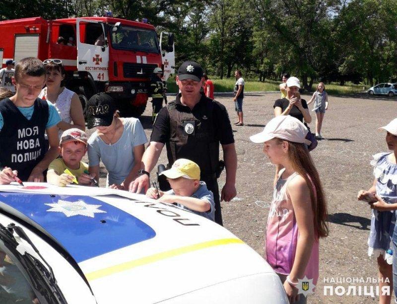 В Константиновке отметили День защиты детей, фото-6
