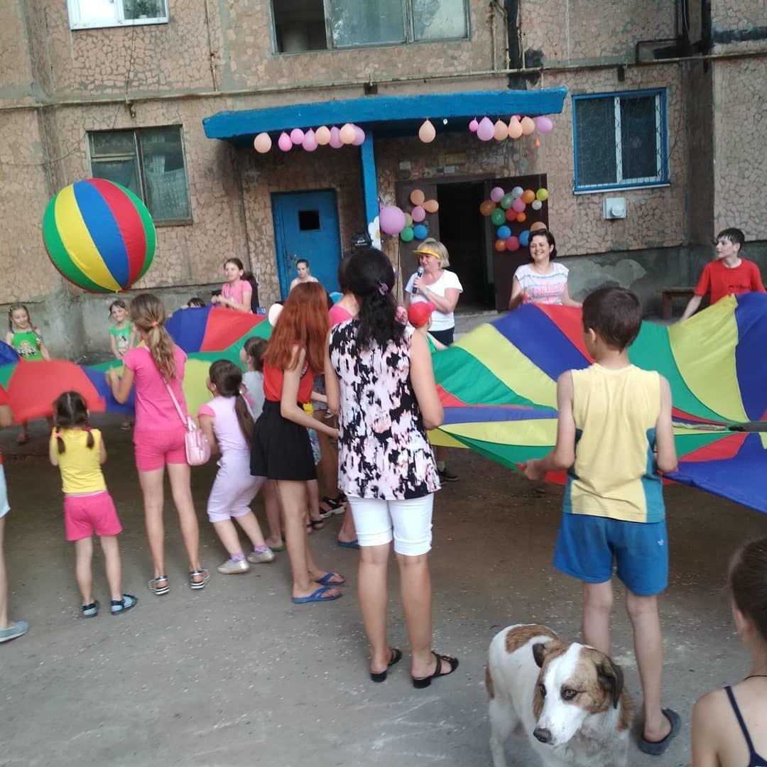 В Константиновке родители микрорайона на Безнощенко устроили праздник для детей, фото-5