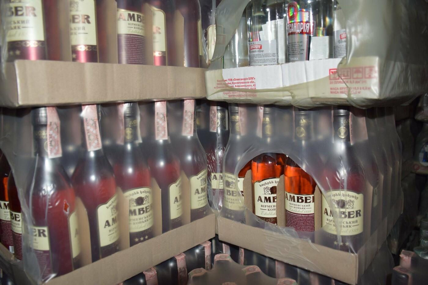 В Костянтинівці та Краматорську вилучили фальсифікований алкоголь на загальну  суму в 10 млн грн, фото-1
