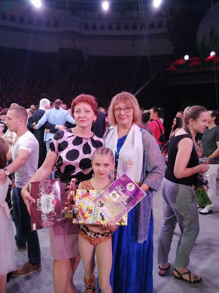 Воспитанница циркового коллектива «Арена» на международном фестивале получила «Бронзовый каштанчик», фото-1