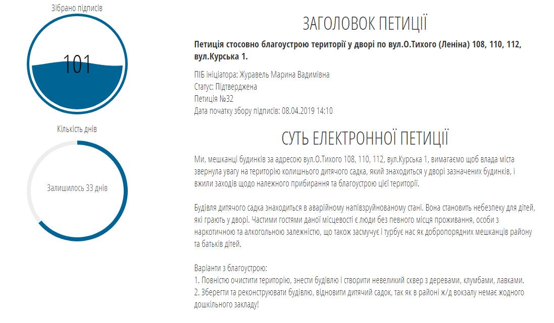 У Костянтинівці триває збір підписів електронних петицій від місцевих мешканців, фото-1