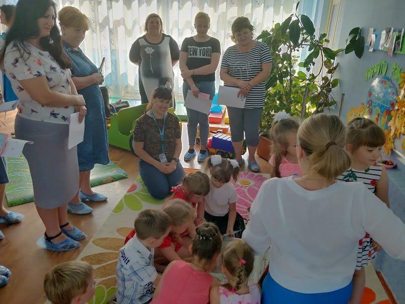 Костянтинівський дитсадок «Мир» прийняв учасників проекту  «Безпечна і дружня до дитини школа», фото-10