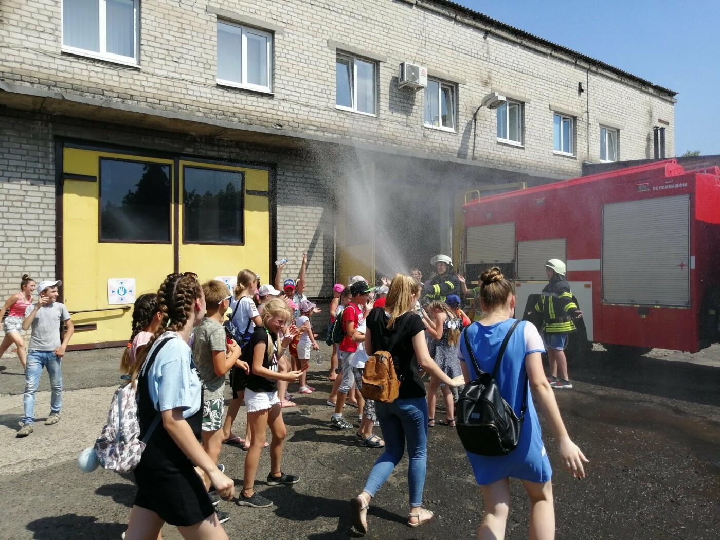 Діти побували на екскурсії в пожежній частині Костянтинівки , фото-2