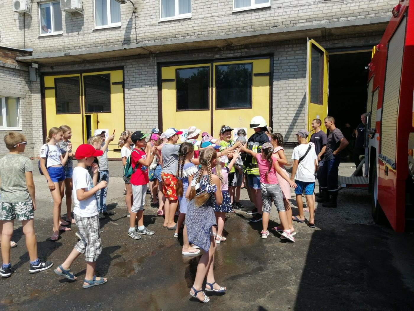 Діти побували на екскурсії в пожежній частині Костянтинівки , фото-3