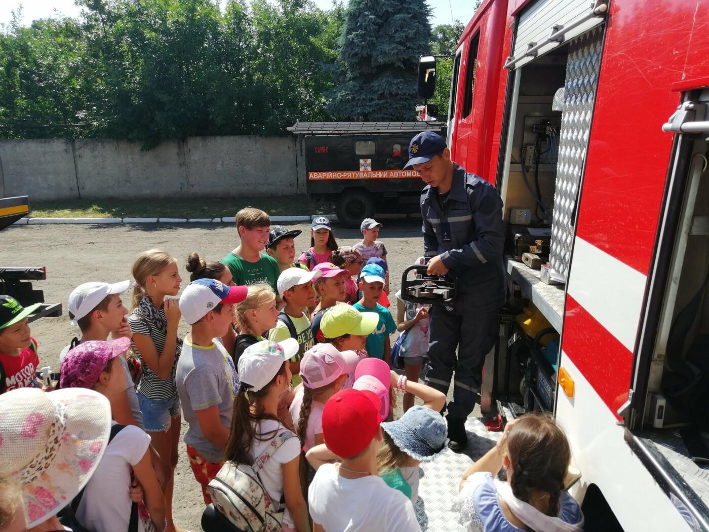 Діти побували на екскурсії в пожежній частині Костянтинівки , фото-5