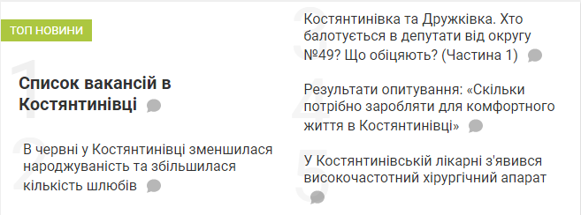Топ-5 новин тижня Костянтинівки, фото-1