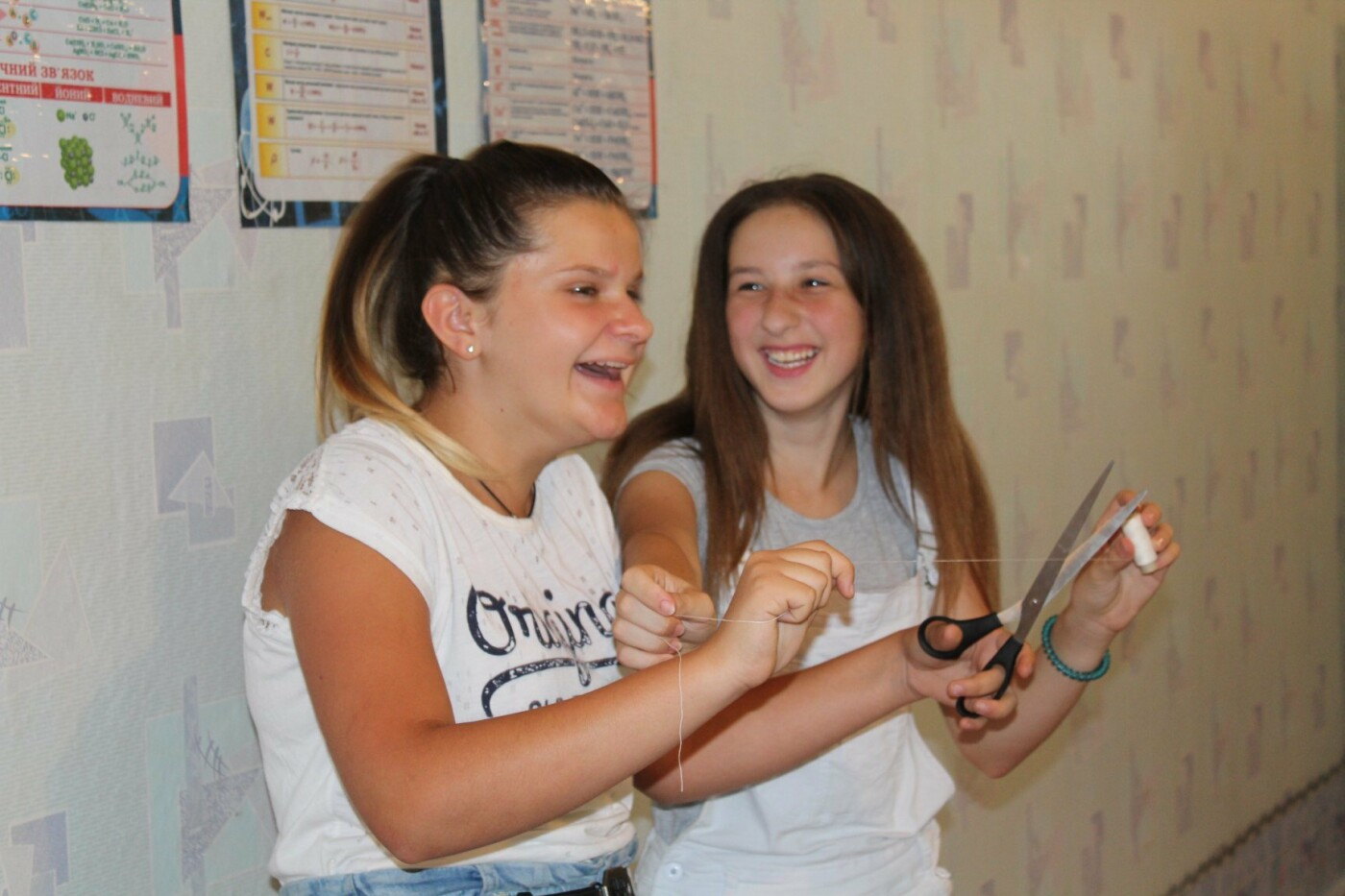 Школярі із села Олександро-Калинове шиють екоторбинки, фото-3