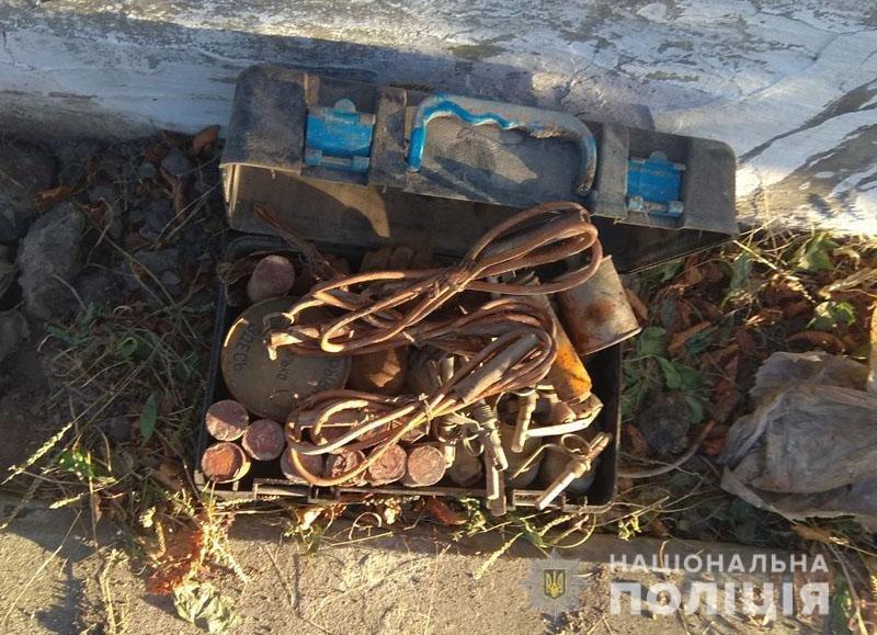 Мешканець Костянтинівки знайшов на вулиці сумку з боєприпасами і тротилом, фото-1