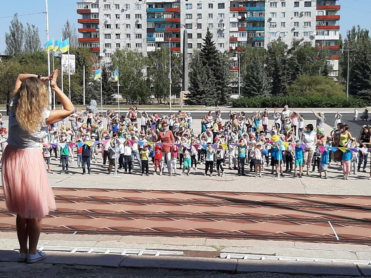 На площі Костянтинівки виступили провідні спортсмени міста, фото-4