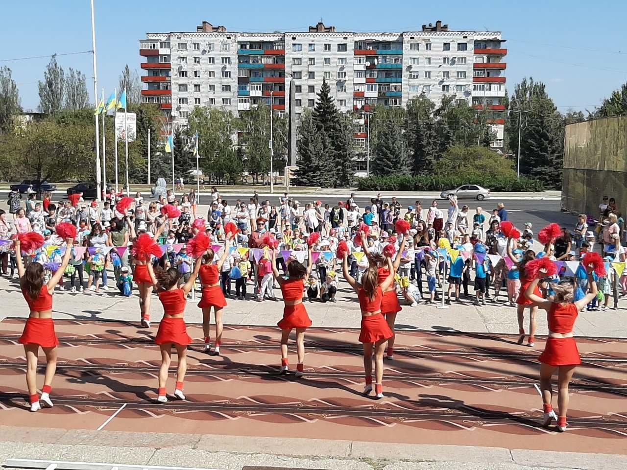 На площі Костянтинівки виступили провідні спортсмени міста, фото-3
