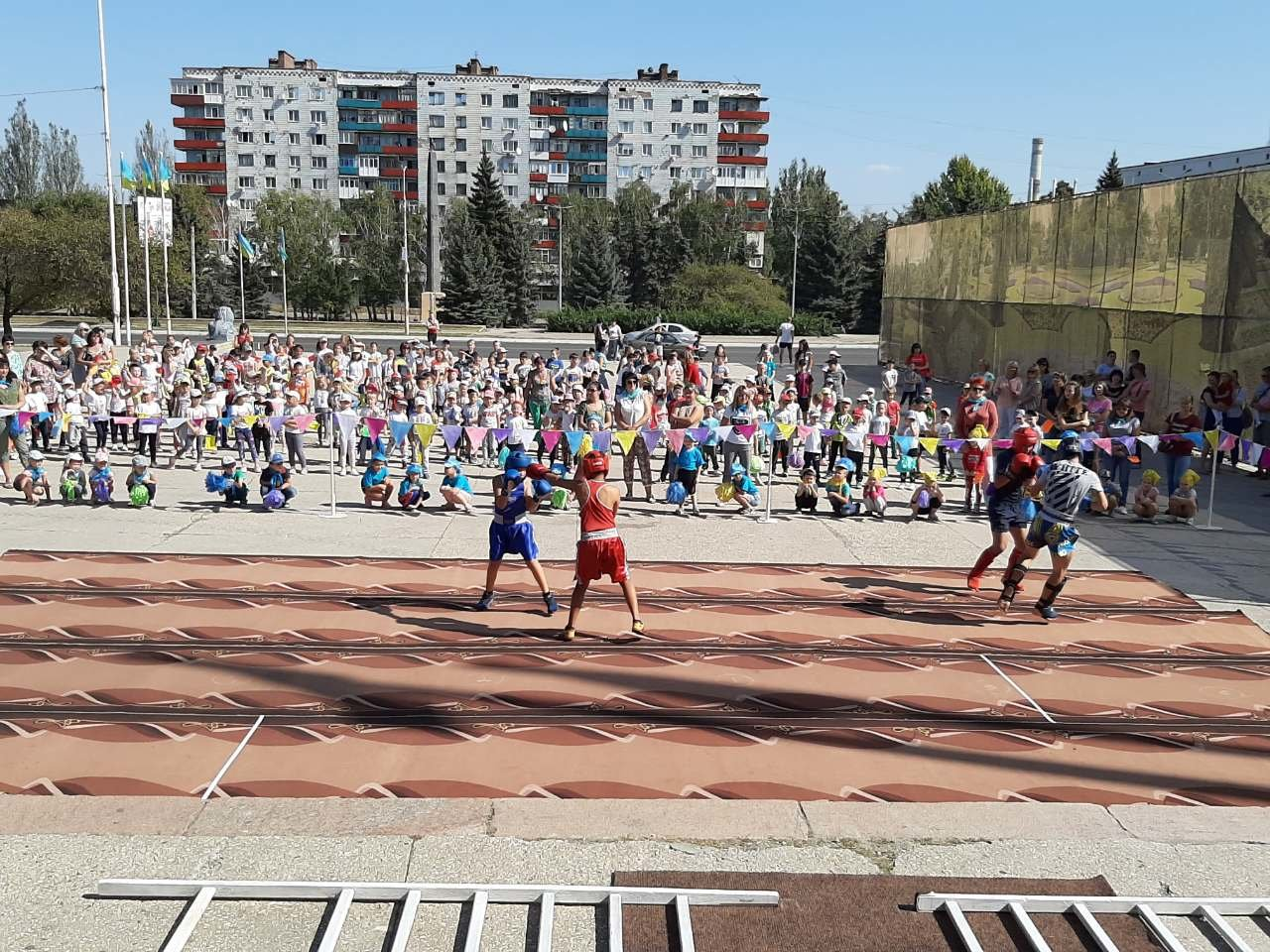 На площі Костянтинівки виступили провідні спортсмени міста, фото-2