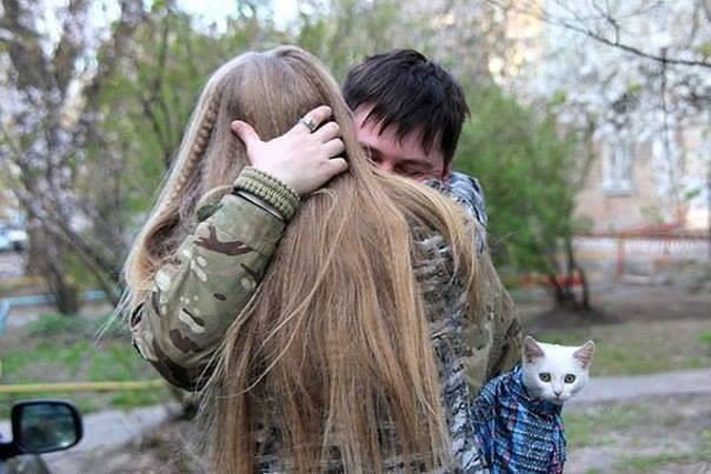 Військові та їх чотирьохлапі друзі. Котики ЗСУ і не тільки, фото-3