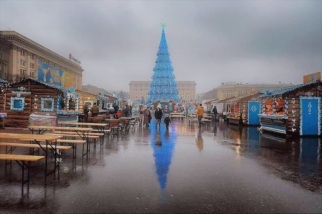 Ялинки України. Як виглядають головні Новорічні красуні у різних містах, фото-5