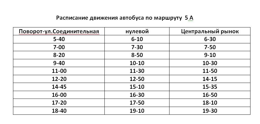 Графік руху автобусів в Костянтинівці на 2020 рік, фото-5