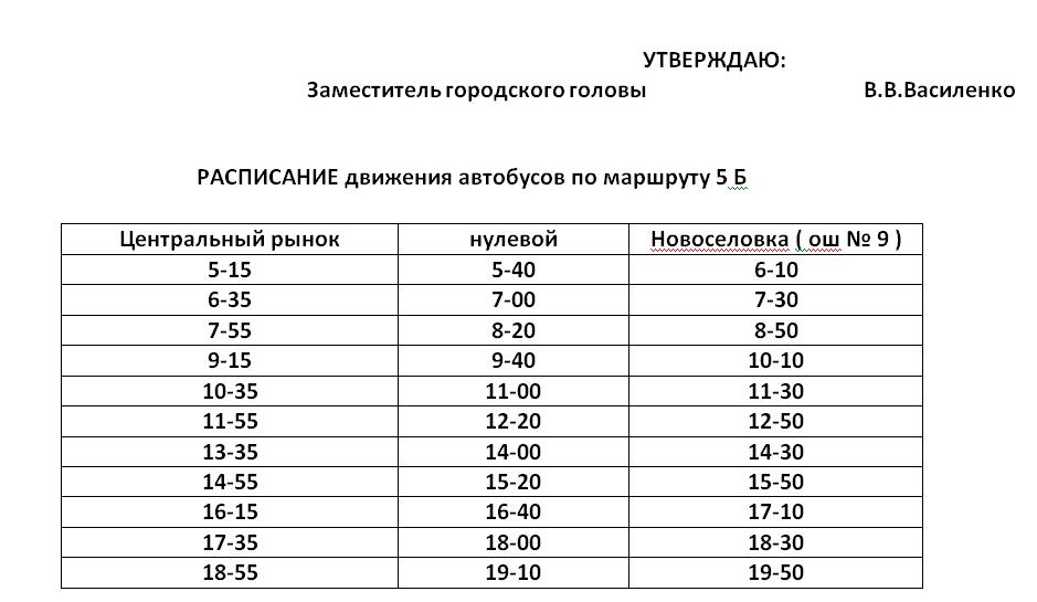 Графік руху автобусів в Костянтинівці на 2020 рік, фото-6