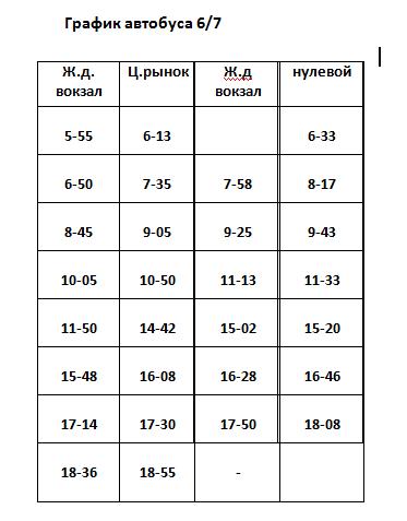 Графік руху автобусів в Костянтинівці на 2020 рік, фото-7