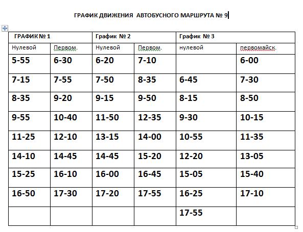 Графік руху автобусів в Костянтинівці на 2020 рік, фото-9