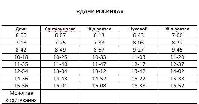 Графік руху автобусів в Костянтинівці на 2020 рік, фото-14
