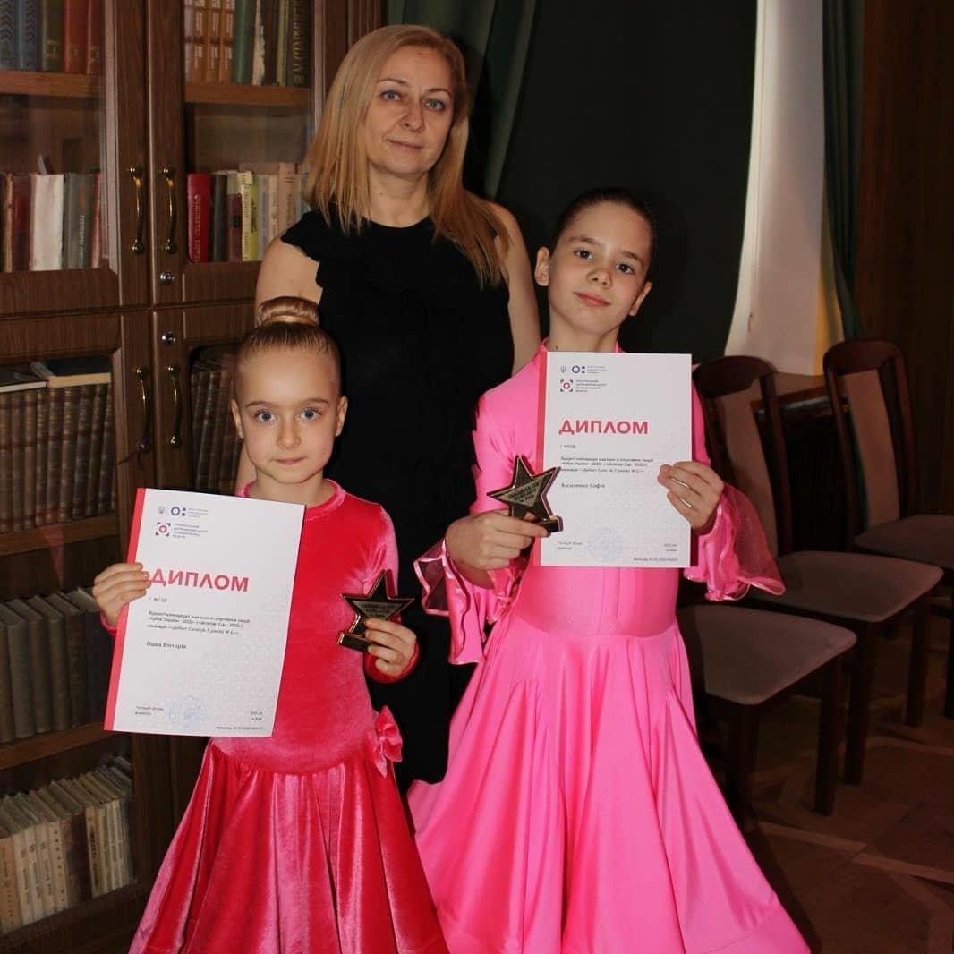 Вихованці студії «Колор» привезли нагороди з Міжнародних змагань зі спортивних танців, фото-1