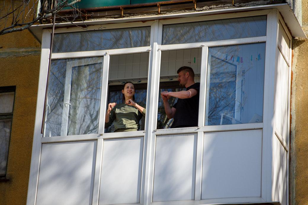 «Донбасс» провел утреннюю зарядку для жителей Константиновки , фото-1